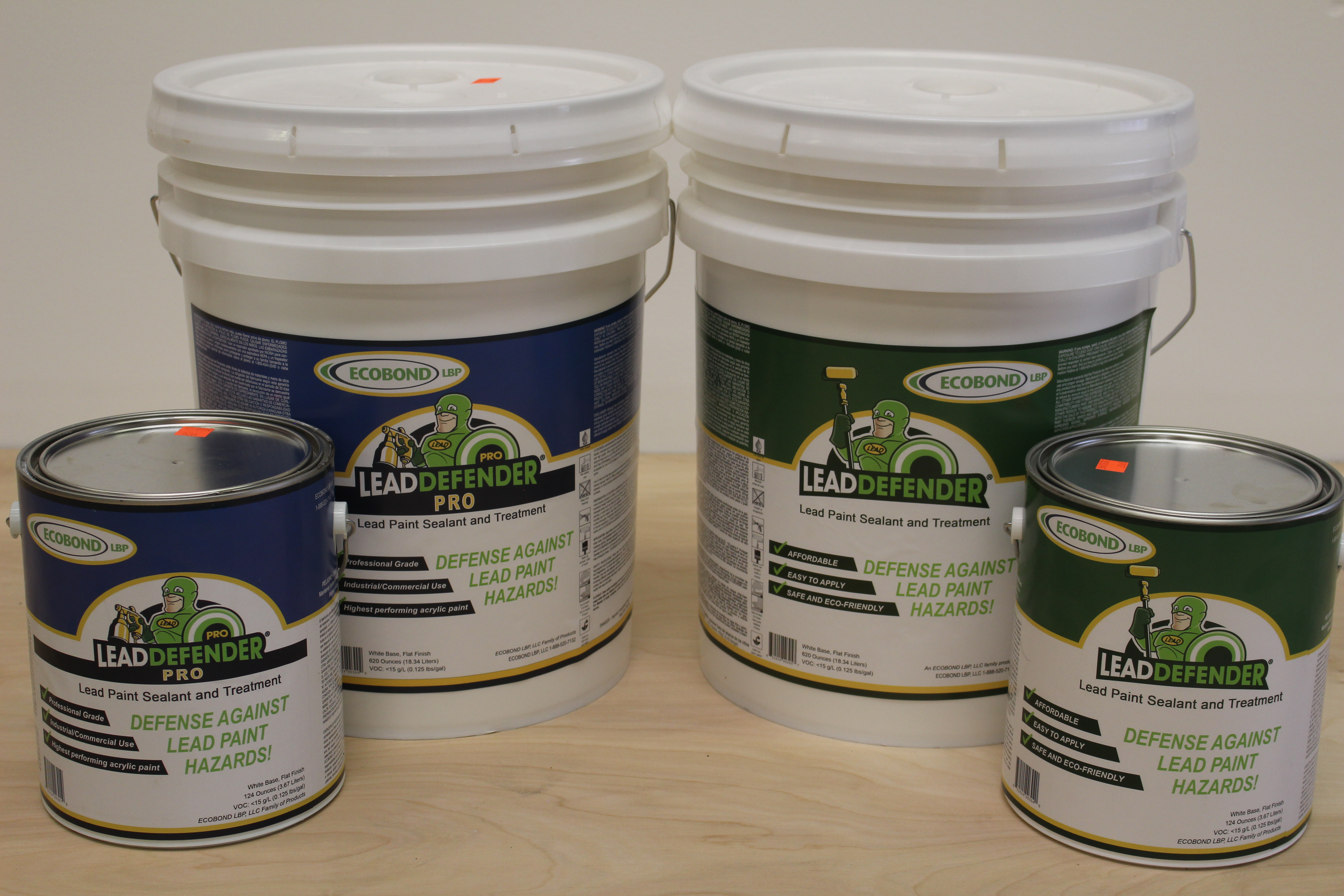 Products for removing lead paint