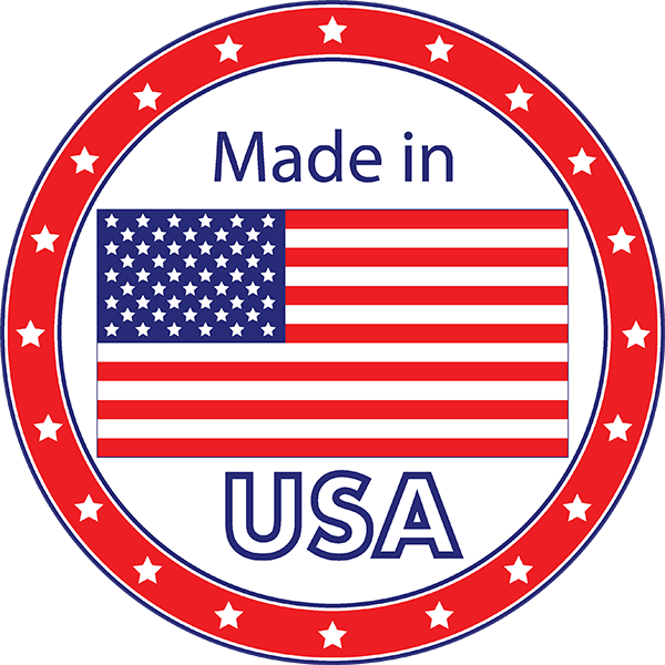 Made in the USA transparent